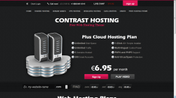 Contrast Hosting Theme
