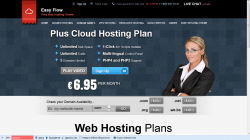 Easy Flow - free hosting theme