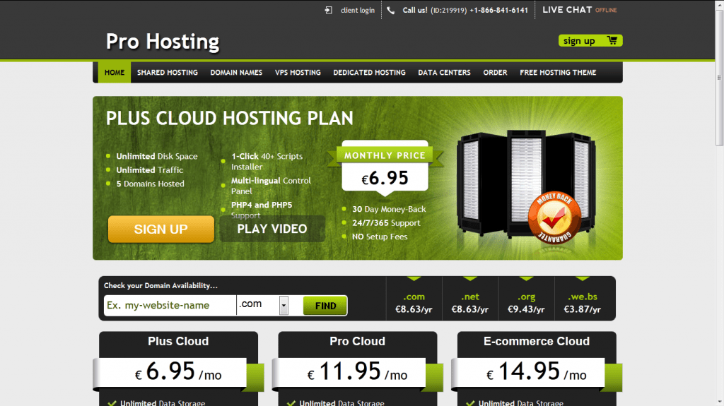 Pro Hosting Free WordPress theme